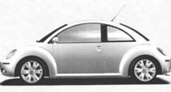 Недействителен промишлен дизайн - новият Beetle