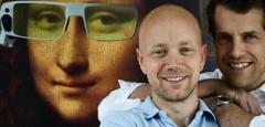 Изобретение проследява движението на окото